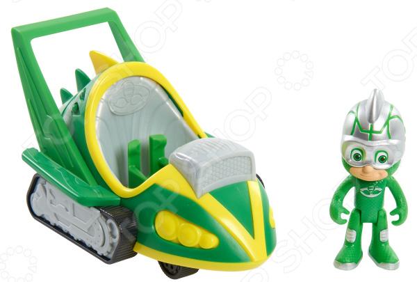 Игровой набор с фигуркой PJ Masks «Геккомобиль» pj masks пазл для малышей команда алетт 04066