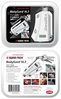 Инструмент автомобильный аварийный Swiss+Tech BodyGardXL7в подарочной упаковке