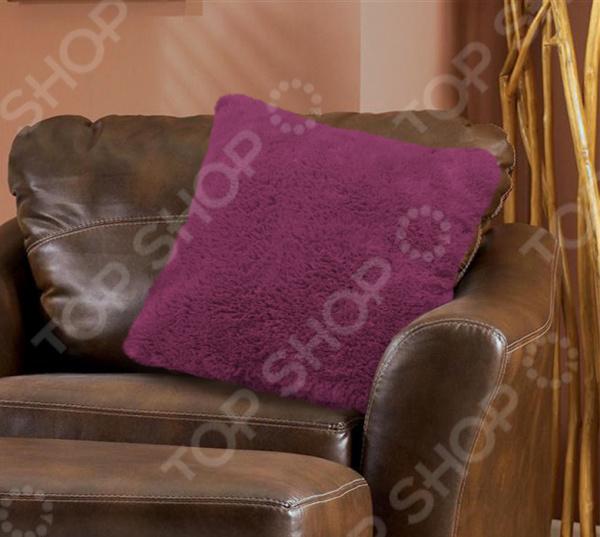 Наволочка декоративная Buenas Noches Fur «Длинный ворс» постельное белье buenas noches постельное белье venice 2 спал