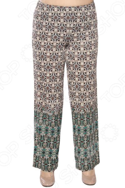 Брюки Лауме-Лайн «Музыка огня». Цвет: зеленый брюки лауме лайн стиль цвет серебряный