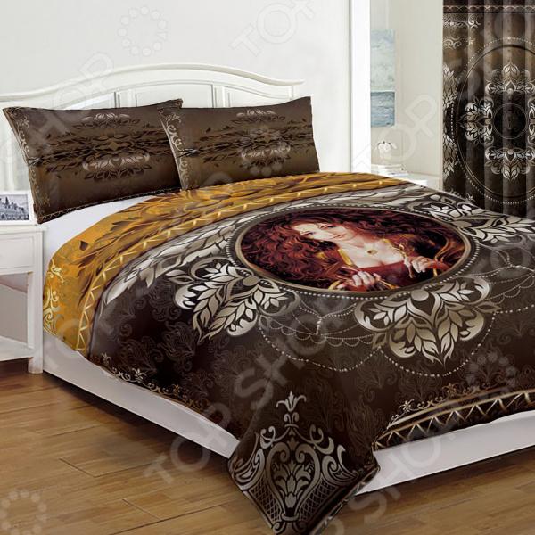 Комплект постельного белья «Фаерс графит». Евро