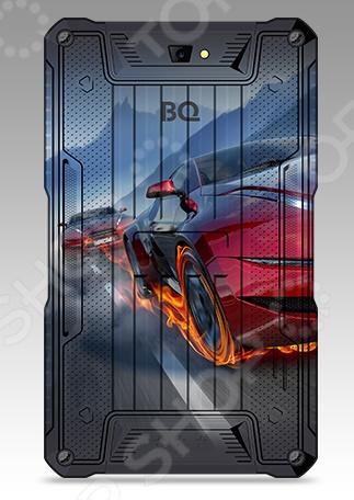 Компьютер планшетный BQ Броня модель с четырехъядерным процессором, мощности которого хватит для выполнения большинства задач современного пользователя: интернет-серфинг, просмотр видео и прослушивание музыки, запуск многих приложений из Google Play. Однако главная его особенность заключается в емкой батарее на 4100 мАч.  Планшет можно использовать, как Power Bank. Заряжайте от его аккумулятора другие устройства с легкостью, ведь прибор оснащен полноразмерным разъемом USB для этих целей.  Операционная система Android 7.0 обеспечивает стабильную и удобную работу с гаджетом.  Поддержка двух Sim-карт. Удобно для тех, кому необходимо одновременно использовать два разных номера.  Объем встроенной памяти 8 Гб может быть увеличен за счет приобретения карты microSD объемом до 32 Гб. Планшет BQ Броня представлен в 5 разных вариантах дизайна. Выберите тот, который способен по настоящему отобразить вашу индивидуальность.