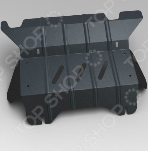 Комплект: защита раздатки и крепеж Novline-Autofamily Toyota Hilux 2010-2015: 2,5 дизель МКПП