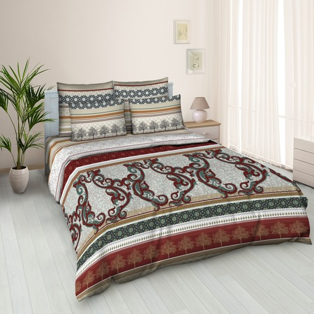Купить Комплект постельного белья Jardin «Эклектика». Евро