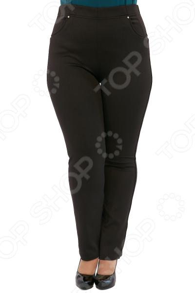 Брюки Лауме-Лайн «Престиж». Цвет: черный брюки лауме лайн стройность цвет черный