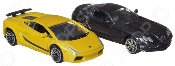 Набор машинок Motormax 75616 motormax модель автомобиля corvette 1967 цвет черный