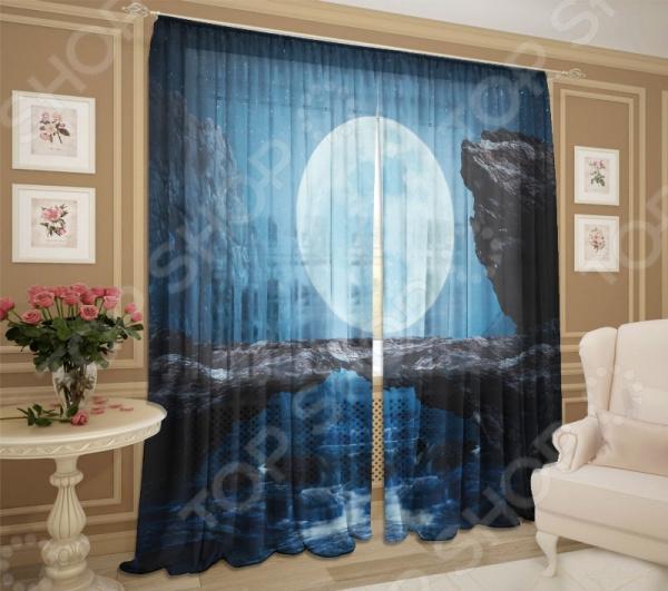 Комплект фототюля ТамиТекс «Восходящая луна»