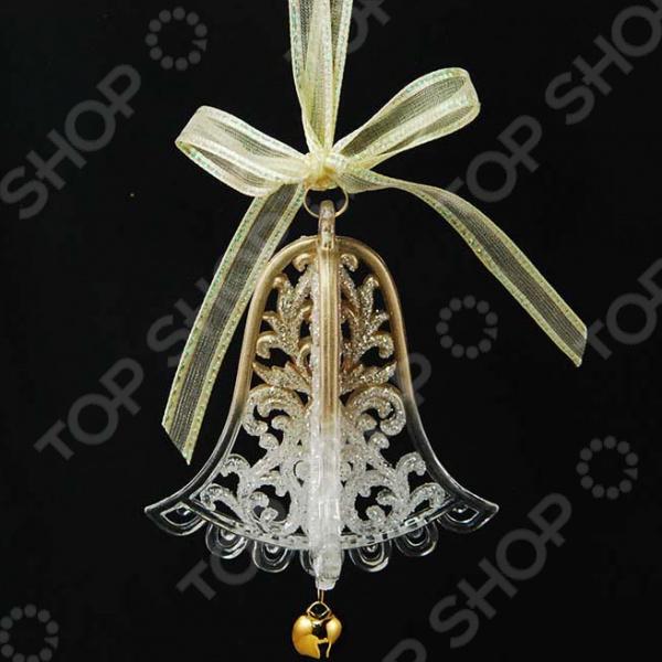 Новогоднее украшение Crystal Deco «Колокольчик»