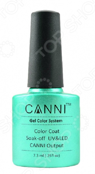 Гель-лак для ногтей CANNI Soak off Color Coat №204 fox гель лак pigment 204