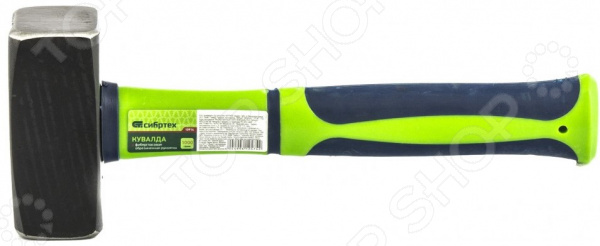 Кувалда СИБРТЕХ с фибергласовой обрезиненной рукояткой кувалда matrix с фибергласовой обрезиненной рукояткой