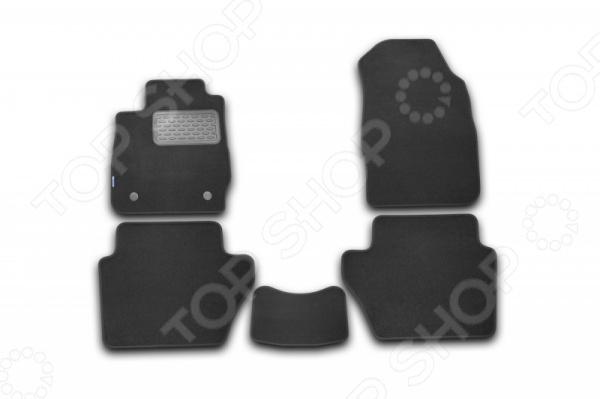 Комплект ковриков в салон автомобиля Novline-Autofamily Ford Fiesta 3D 2008-2011 коврик 3d в салон автомобиля novline autofamily ford transit 2014 2015