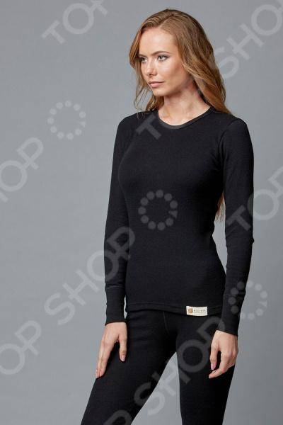Лонгслив Milliner «Ангора» 1723125. Цвет: черный ангора одежда
