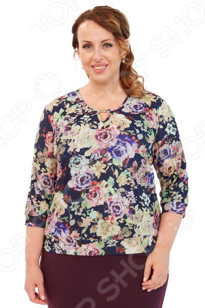 Блуза LORICCI «Ангелия». Цвет: синий снуды loricci снуд
