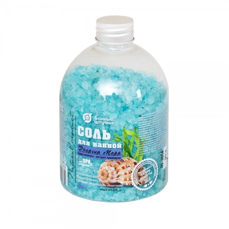 Купить Соль для ванны Банные штучки «Энергия моря»