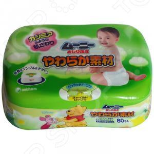 Влажные гигиенические салфетки для детей MOONY 4903111-473908