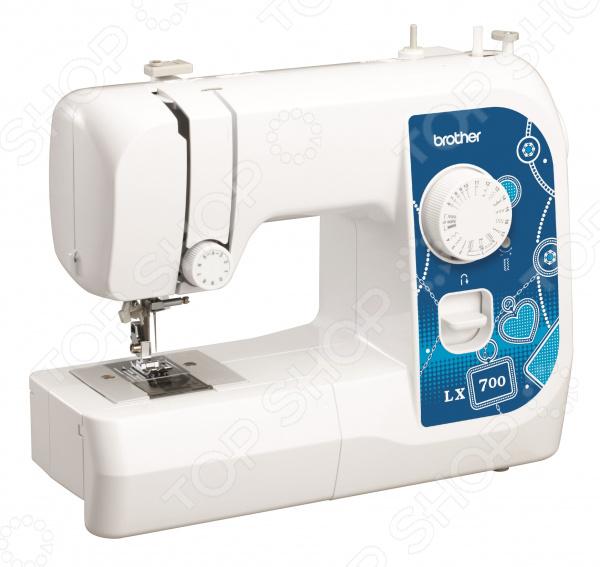 Швейная машина Brother LX-700 лапка для швейной машины aurora для шитья узоров