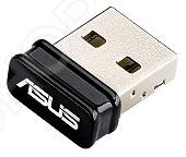 Wi-Fi адаптер Asus USB-N10 NANO wifi usb адаптер asus usb n10 nano