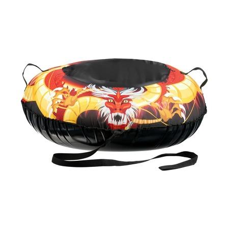 Купить Ватрушка надувная Bradex «Золотой дракон»