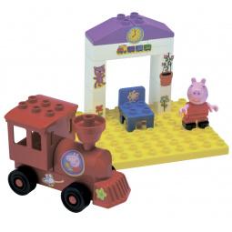 Конструктор детский BIG «Поезд с остановкой»