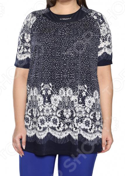 Блуза Лауме-Лайн «Источник красоты». Цвет: белый