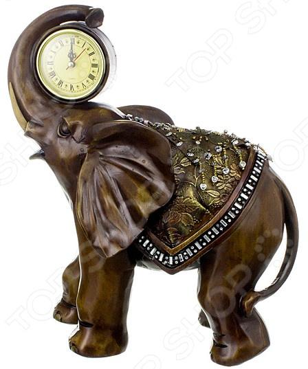 Часы настольные Lefard «Слон» 114-212 купить часы мальчику 7 лет