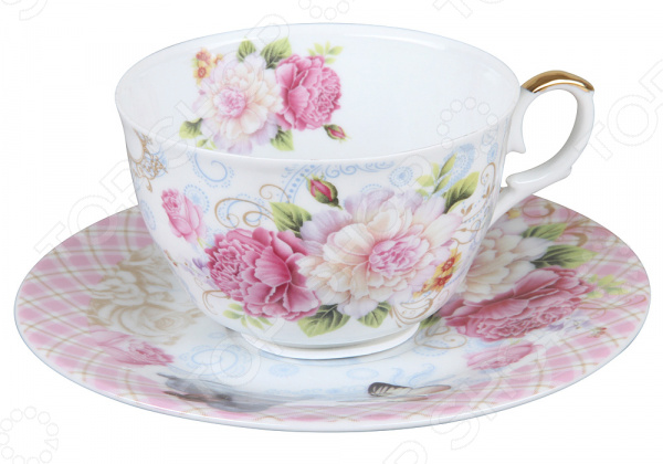 Чайная пара Rosenberg R-255013 чайная пара rosenberg r 255008