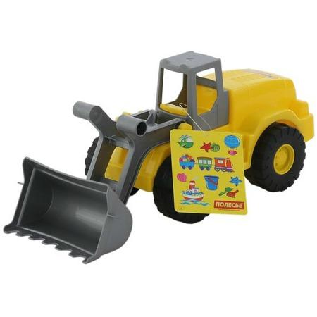 Купить Машинка игрушечная Wader «Агат. Трактор-погрузчик»