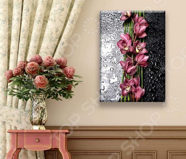 Картина ТамиТекс «Орхидея на стекле» картина тамитекс собор