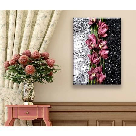 Купить Картина ТамиТекс «Орхидея на стекле»