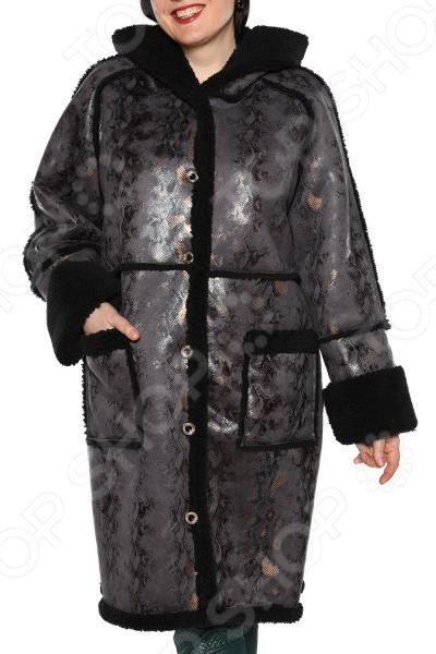 Дубленка Laura Amatti «Королевский питон». Цвет: серый платье laura amatti нежная радость цвет сиреневый