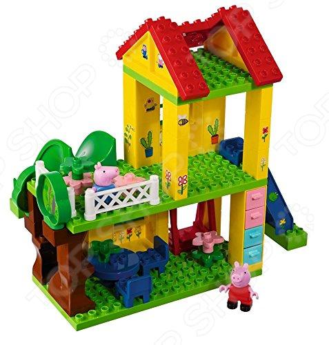Конструктор игровой BIG Peppa Pig конструктор дом на дереве peppa pig big