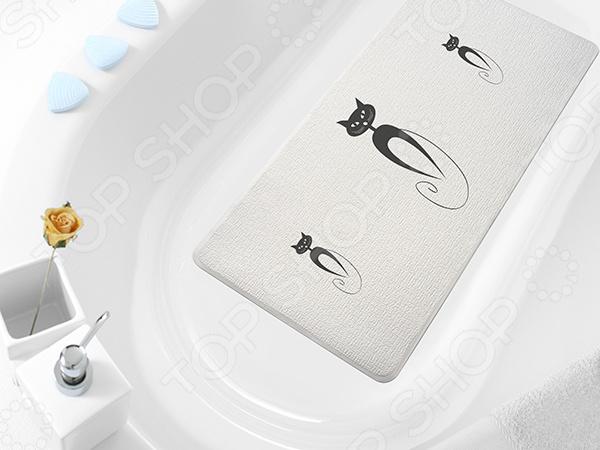 Коврик в ванну Bacchetta Cats фабрика демьяновъ коврик в ванну анна силивончик маленькое сердце
