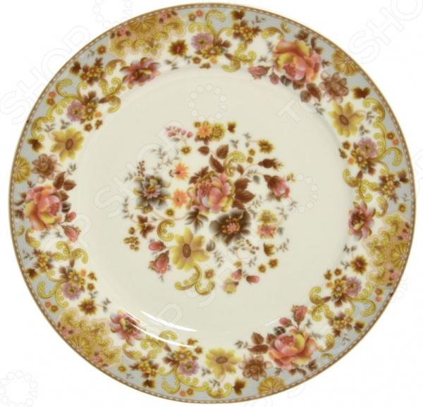 Тарелка десертная Nanshan Porcelain «Фантазия»