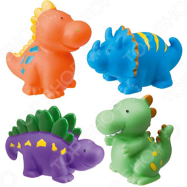 Игрушки для ванны Alex «Динозаврики» игрушки для ванной alex набор игровой для ванны вымой щенка