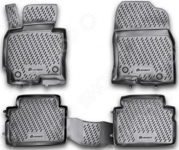 Комплект ковриков в салон автомобиля Element Mazda CX-5, 2011 комплект ковриков в салон автомобиля klever mazda cx 5 2011 standard