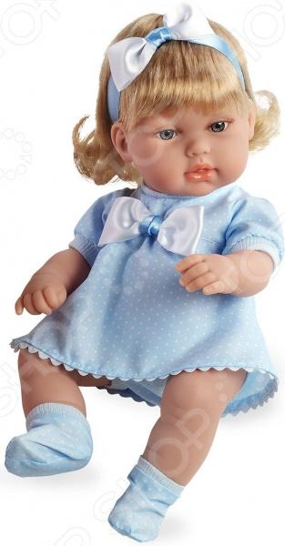 Кукла интерактивная Arias в платье с бантом