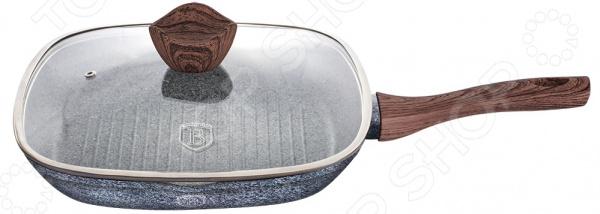 Сковорода-гриль Berlinger Haus Forest с крышкой сковорода berlinger haus ebony rosewood