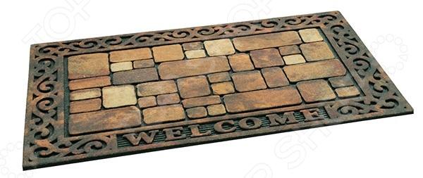 Коврик придверный Apache Aberdeen Welcome коврик придверный welcome цветы moikovrik