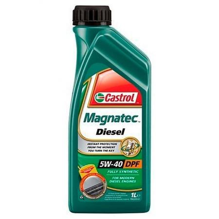 Купить Масло моторное синтетическое Castrol CAS-MAGN-5W40DPF-1L