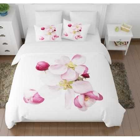 Купить Комплект постельного белья Сирень «Распустившиеся цветы»