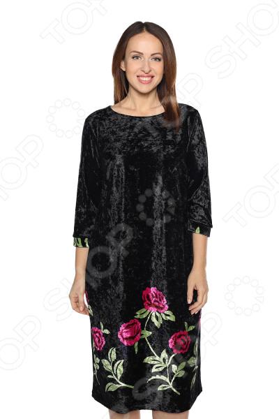 Платье Лауме-Лайн «Бархатный сезон». Цвет: лавандовый