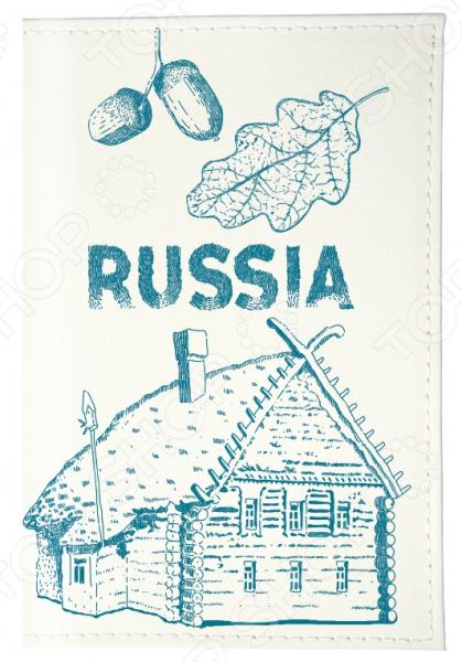Обложка для паспорта Mitya Veselkov «Русская изба»