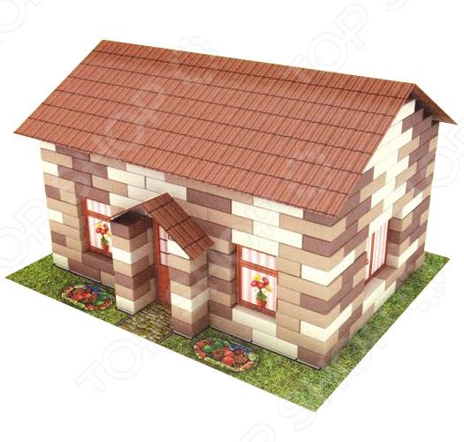 Конструктор из кирпичиков Karras «Домик в деревне» metrot таково домик в деревне 111595