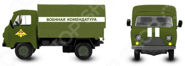 Машина инерционная со светозвуковыми эффектами PlaySmart «Автопарк. Военная комендатура»