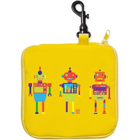 Купить Термобутербродница IRIS Barcelona СнэкРико «Робот» 16х16 см