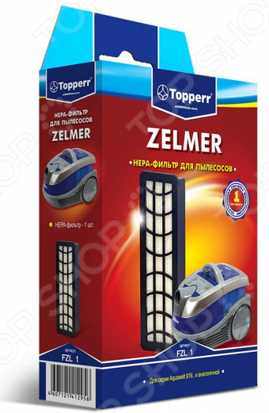 Фильтр для пылесоса Topperr FZL 1 topperr fu 1