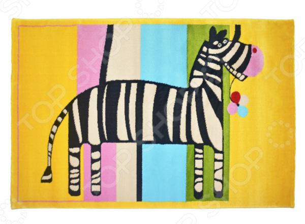где купить Ковер для детской комнаты URGAZ «Радуга и зебра» по лучшей цене
