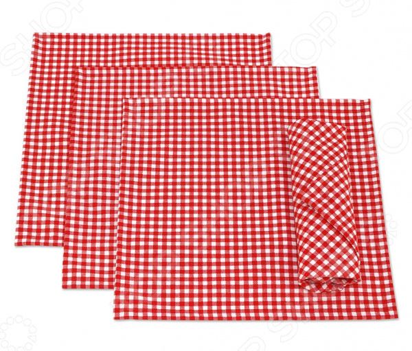 Набор салфеток Kauffort Red Kimberly