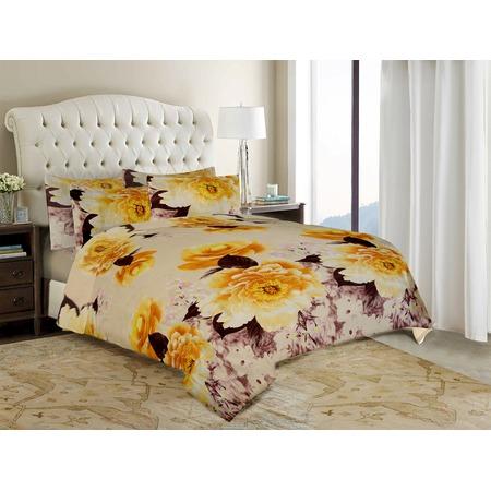 Купить Комплект постельного белья «Нежность». 1,5-спальный. Цвет: оранжевый