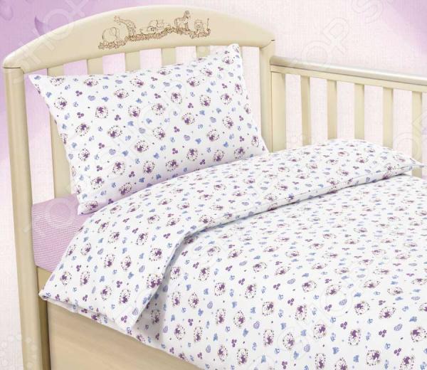 Ясельный комплект постельного белья ТексДизайн «Любимый мишка»